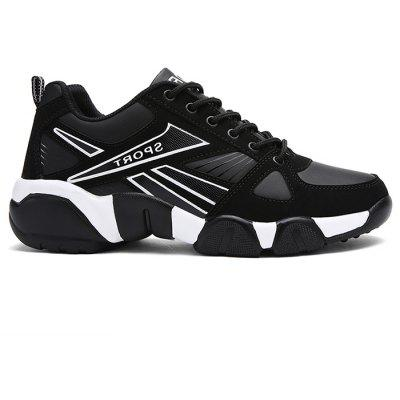Colorblocked Breathable Sneakers