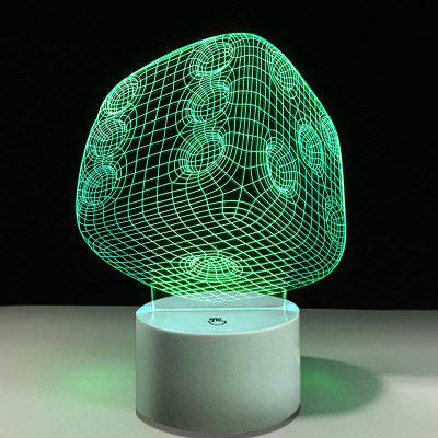 Dice Touch Colors Cambia LED Night Light