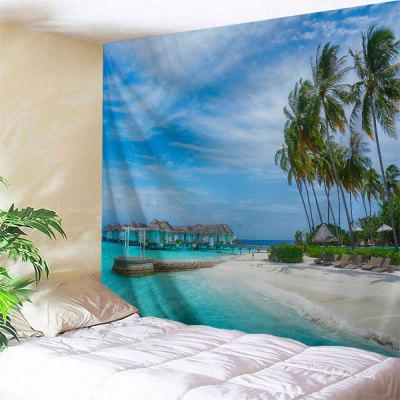 Holiday Beach Travel Print Wall Art Tapestry