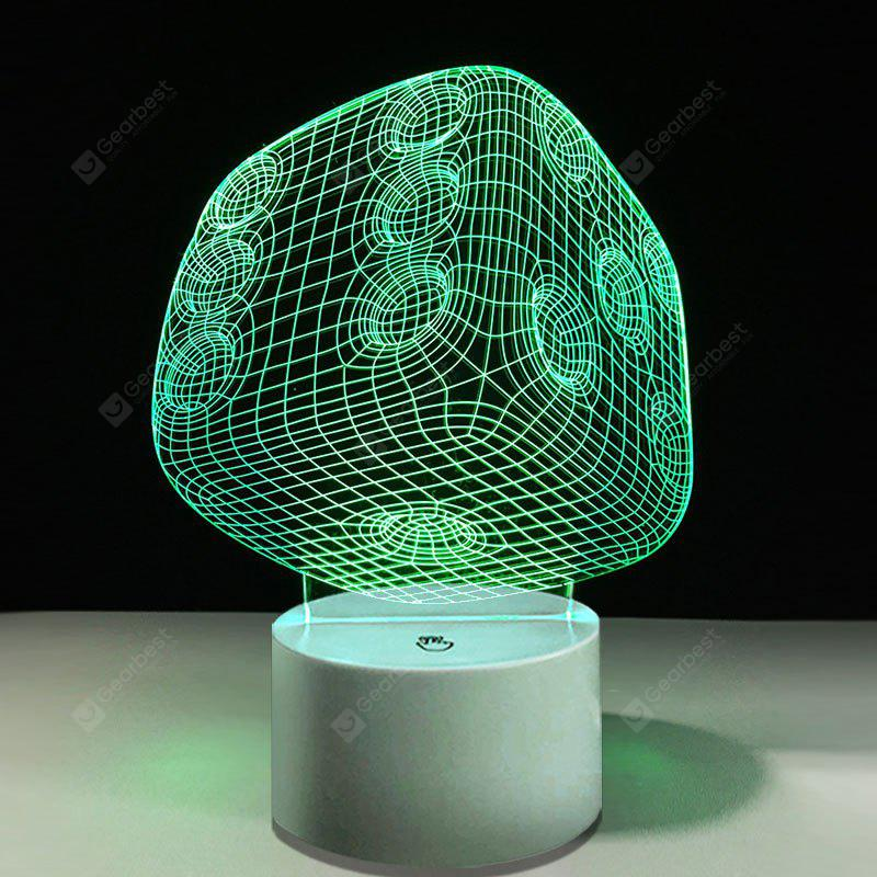 Dice Touch Colors Changing LED Night Light