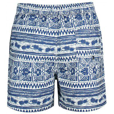 Drawstring Pineapple Printed Swim TrunksMens Swimwear<br>Drawstring Pineapple Printed Swim Trunks<br><br>Gender: For Men<br>Material: Polyester<br>Package Contents: 1 x Swim Trunks<br>Pattern Type: Print<br>Swimwear Type: Board Shorts<br>Weight: 0.2500kg
