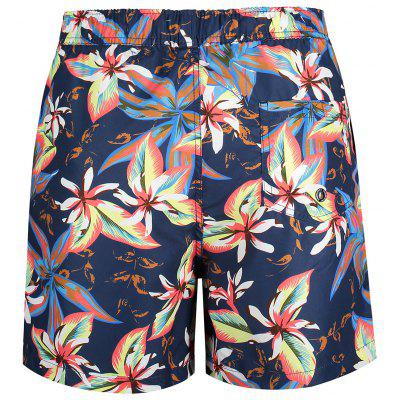 Pockets Floral Swim TrunksMens Swimwear<br>Pockets Floral Swim Trunks<br><br>Gender: For Men<br>Material: Polyester<br>Package Contents: 1 x Swim Trunks<br>Pattern Type: Floral<br>Swimwear Type: Board Shorts<br>Weight: 0.2400kg