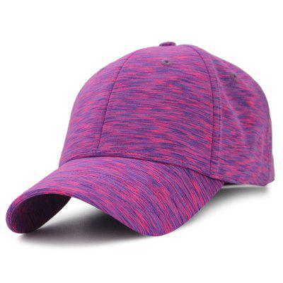 Unique Color Splice Pattern Magic Stickers Baseball Hat