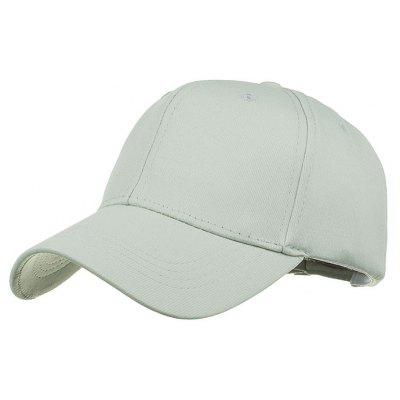 Simple Line Embroidery Adjustable Sunscreen Hat