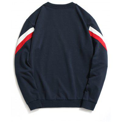 Color Block Crew Neck Pullover SweatshirtMens Hoodies &amp; Sweatshirts<br>Color Block Crew Neck Pullover Sweatshirt<br><br>Material: Polyester<br>Package Contents: 1 x Sweatshirt<br>Pattern Type: Color Block<br>Shirt Length: Regular<br>Sleeve Length: Full<br>Style: Fashion<br>Weight: 0.8400kg