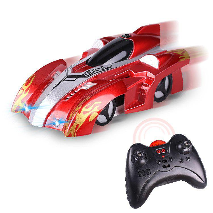 Wall Climbing Car With Remote Control for Kids RED