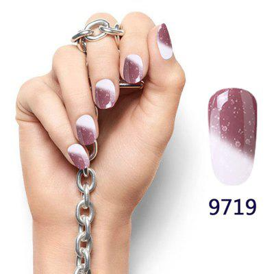 8ML Snowy Temperature Change Color Soak Off Nail Art Nail Polish