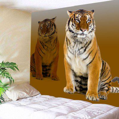 Tiger Print Wall Art Tapestry
