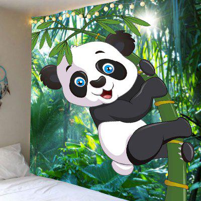 Bamboo Forest Panda Wall Tapestry