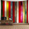 Colorful Plank Printed Wall Art Tapestry - COLORFUL