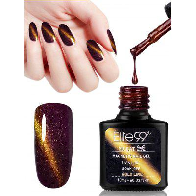 Elite99 10ML 3D Cat Eye Soak Off UV Gel Nail Salon Nail Polish