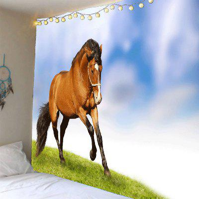 Prairie Galloping Horse Pattern Home Decor Tapestry