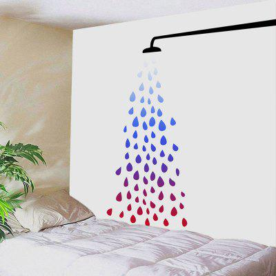 Sprinkler Sprinkling Water Pattern Tapestry