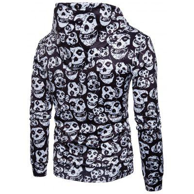 Skulls Pullover Halloween HoodieMens Hoodies &amp; Sweatshirts<br>Skulls Pullover Halloween Hoodie<br><br>Clothes Type: Hoodie<br>Material: Polyester<br>Occasion: Sports, Going Out, Daily Use, Club, Casual<br>Package Contents: 1 x Hoodie<br>Patterns: Skulls<br>Shirt Length: Regular<br>Sleeve Length: Full<br>Style: Fashion<br>Thickness: Regular<br>Weight: 0.5300kg