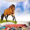 Prairie Galloping Horse Pattern Home Decor Tapestry - COLORFUL