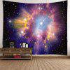 Shiny Starry Sky Printed Wall Decor Tapestry - COLORFUL
