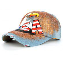 1a14564f88a Unique Eagle Pattern Hand Drawing Adjustable Baseball Hat