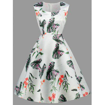 Palm Sweetheart Party Dress