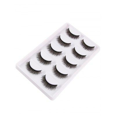 Multifunctional 5Pcs Natural Looking Volumizing Mink False EyelashesMakeup Brushes &amp; Tools<br>Multifunctional 5Pcs Natural Looking Volumizing Mink False Eyelashes<br><br>Category: False Eyelashes<br>Features: Professional<br>Package Contents: 5 x False Eyelashes (Pairs)<br>Season: Fall, Spring, Summer, Winter<br>Weight: 0.0540kg