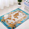 Starfish Shell Sand Pattern Indoor Outdoor Area Rug - COLORMIX