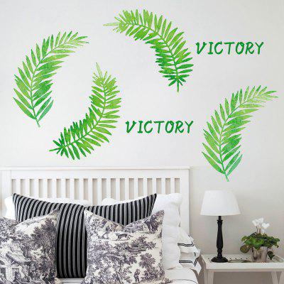 Leaves Letter TV Background Wall StickerWall Stickers<br>Leaves Letter TV Background Wall Sticker<br><br>Feature: Removable<br>Functions: Decorative Wall Stickers<br>Material: PVC<br>Package Contents: 1 x Wall Sticker<br>Pattern Type: Leaf<br>Wall Sticker Type: Plane Wall Stickers<br>Weight: 0.1225kg