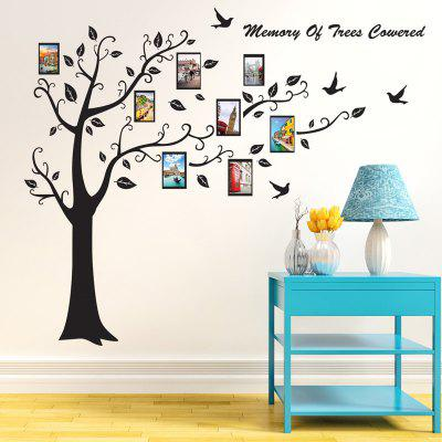 Memory Tree Photo Frames Etiqueta de la pared