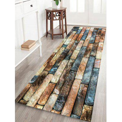Brick Wall Pattern Living Room Area Rug