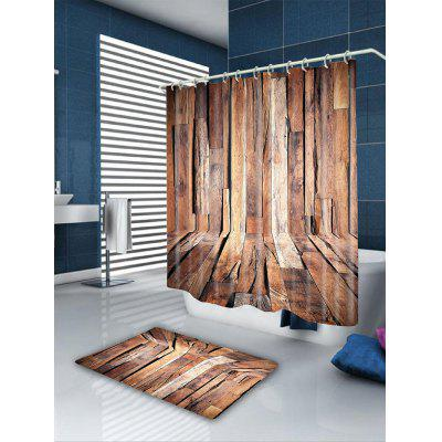 Wood Grain Printed Shower CurtainShower Curtain<br>Wood Grain Printed Shower Curtain<br><br>Materials: Polyester<br>Number of Hook Holes: W59 inch * L71 inch:10, W71 inch * L71 inch:12, W71 inch * L79 inch:12<br>Package Contents: 1 x Shower Curtain 1 x Hooks (Set)<br>Pattern: Wood Grain<br>Products Type: Shower Curtains<br>Style: Natural