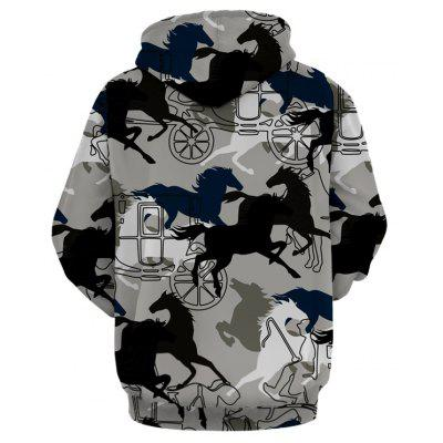 Horse Carriage Pattern Pullover HoodieMens Hoodies &amp; Sweatshirts<br>Horse Carriage Pattern Pullover Hoodie<br><br>Clothes Type: Hoodie<br>Material: Polyester, Spandex<br>Occasion: Sports, Going Out, Casual<br>Package Contents: 1 x Hoodie<br>Patterns: Animal<br>Shirt Length: Regular<br>Sleeve Length: Full<br>Style: Casual<br>Thickness: Regular<br>Weight: 0.5100kg