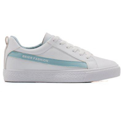 Colorblocked Low Top Skate Shoes