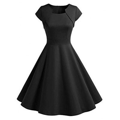Vintage Swing Fit and Flare Dress