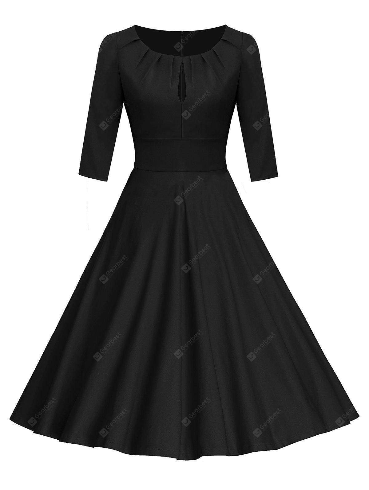 Robe Pin-Up Froncée Style Vintage