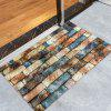 Brick Wall Pattern Living Room Area Rug - COLORMIX