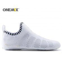 ONEMIX Indoor Knit Slip On Casual Shoes