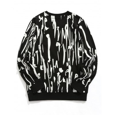 Crew Neck Abstract Print Pullover SweatshirtMens Hoodies &amp; Sweatshirts<br>Crew Neck Abstract Print Pullover Sweatshirt<br><br>Material: Polyester<br>Package Contents: 1 x Sweatshirt<br>Pattern Type: Print<br>Shirt Length: Regular<br>Sleeve Length: Full<br>Style: Fashion<br>Weight: 0.5000kg