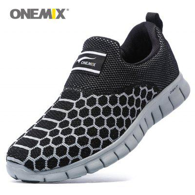 ONEMIX Breathable Geometric Pattern Athletic ShoesAthletic Shoes<br>ONEMIX Breathable Geometric Pattern Athletic Shoes<br><br>Closure Type: Slip-On<br>Feature: Breathable<br>Gender: For Men<br>Outsole Material: Rubber<br>Package Contents: 1 x Athletic Shoes (pair)<br>Pattern Type: Geometric<br>Season: Spring/Fall<br>Shoe Width: Medium(B/M)<br>Upper Material: Mesh<br>Weight: 1.6630kg