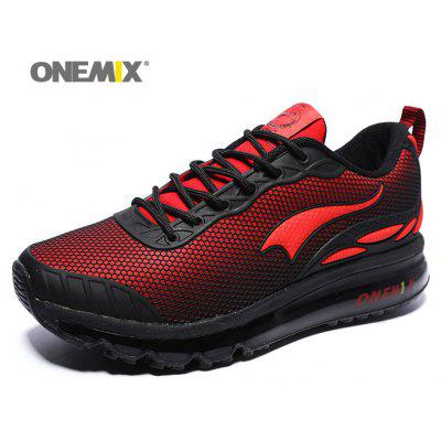 ONEMIX Air Cushion Road Outdoor Running ShoesAthletic Shoes<br>ONEMIX Air Cushion Road Outdoor Running Shoes<br><br>Closure Type: Lace-Up<br>Feature: Breathable<br>Gender: For Men<br>Outsole Material: Rubber<br>Package Contents: 1 x Athletic Shoes (Pair)<br>Pattern Type: Others<br>Season: Spring/Fall<br>Shoe Width: Medium(B/M)<br>Upper Material: Synthetic<br>Weight: 1.6630kg