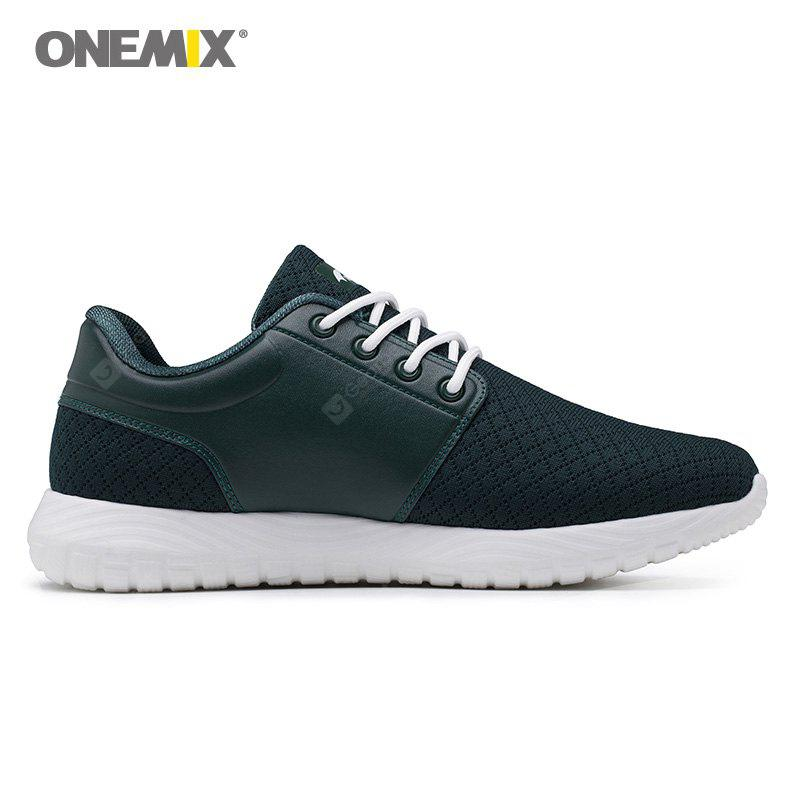 ONEMIX Breathable Lace Up Casual Sneakers