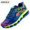 ONEMIX Air Cushion Lace Up Running Shoes - COLORFUL