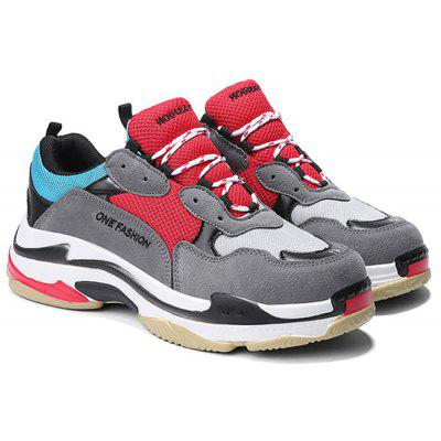 Color Block Hiking Comfort Sports Shoes