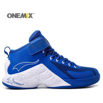 ONEMIX Couro contrastante Athletic Shoes