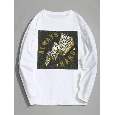 Always Graphic Cotton Full Sleeve T-shirt