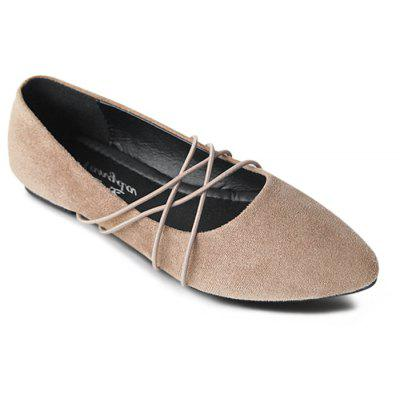 Casual Faux Suede Flats
