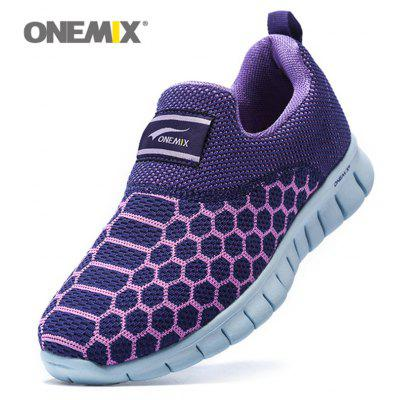 ONEMIX Lightweight Breathable Casual SneakersMen's Sneakers<br>ONEMIX Lightweight Breathable Casual Sneakers<br><br>Closure Type: Slip-On<br>Feature: Breathable<br>Gender: For Women<br>Outsole Material: Rubber<br>Package Contents: 1 x Sneakers (Pair)<br>Pattern Type: Geometric<br>Season: Spring/Fall<br>Shoe Width: Medium(B/M)<br>Upper Material: Mesh<br>Weight: 1.3640kg