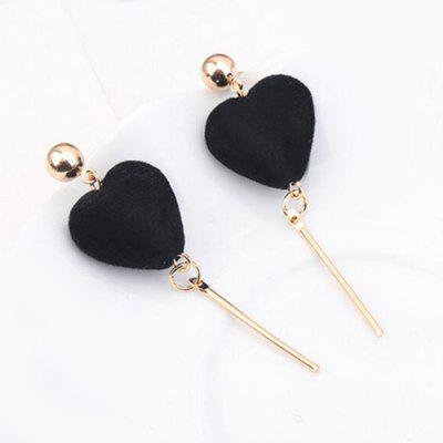 Vintage Fuzzy Heart Bar Drop EarringsEarrings<br>Vintage Fuzzy Heart Bar Drop Earrings<br><br>Earring Type: Drop Earrings<br>Gender: For Women<br>Length: 5.6CM<br>Package Contents: 1 x Earring (Pair)<br>Shape/Pattern: Heart<br>Style: Trendy<br>Weight: 0.0800kg
