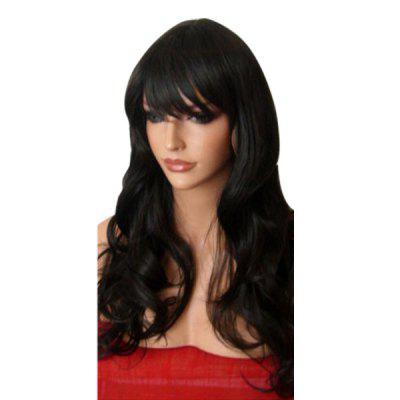 Long Side Fringe Wavy Synthetic Wig
