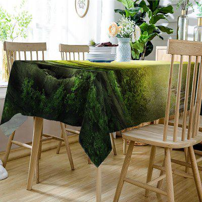 Sun Rays into Forest Print Waterproof Table ClothTable Accessories<br>Sun Rays into Forest Print Waterproof Table Cloth<br><br>Material: Polyester<br>Package Contents: 1 x Table Cloth<br>Pattern Type: Forest<br>Type: Table Cloth<br>Weight: 0.4050kg