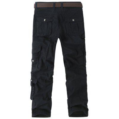 Loose Straight Cargo Pants with Multi PocketsMens Pants<br>Loose Straight Cargo Pants with Multi Pockets<br><br>Closure Type: Zipper Fly<br>Fit Type: Regular<br>Front Style: Pleated<br>Material: Cotton Blends<br>Package Contents: 1 x Pants<br>Pant Length: Long Pants<br>Pant Style: Cargo Pants<br>Style: Casual<br>Waist Type: Mid<br>Weight: 0.6700kg<br>With Belt: No