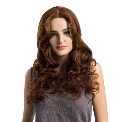 Adiors Long Center Parting Fluffy Loose Wave Synthetic Wig