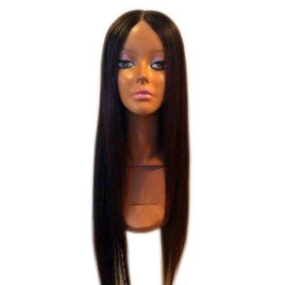Ultra Long Middle Part Silky Straight Synthetic Wig